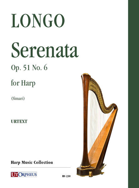 Alessandro Longo (1864-1945) Serenata, Op. 51 n. 6 per arpa