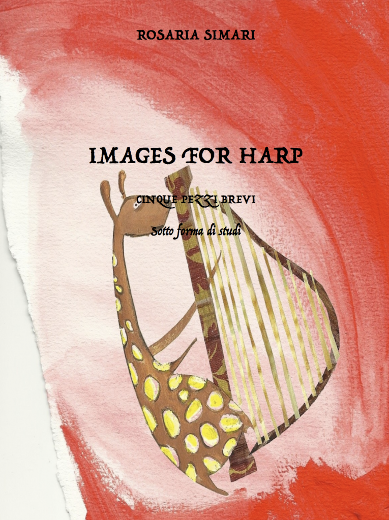 Images for harp. Five short pieces for harp